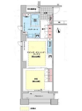 ネクステージレジデンス中央湊 / 9階 部屋画像1