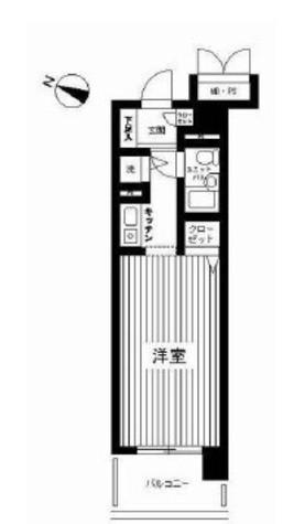 日神パレステージ伊勢佐木南 / 509 部屋画像1