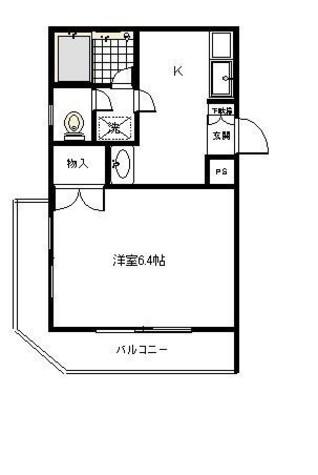 グランデ広尾 / 2階 部屋画像1