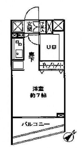 レジディア神田岩本町 / 1003 部屋画像1