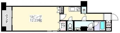 広々12帖のお部屋