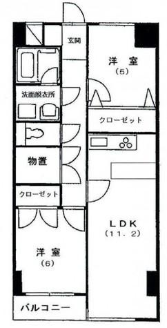 スリーツリーズ / 3階 部屋画像1