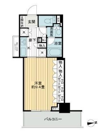 ライオンズタワー上野黒門町 / 12階 部屋画像1