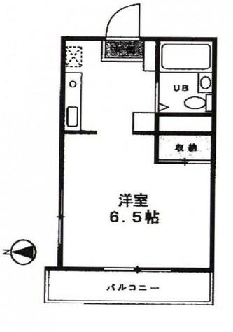 パルデンス自由が丘 / 2階 部屋画像1