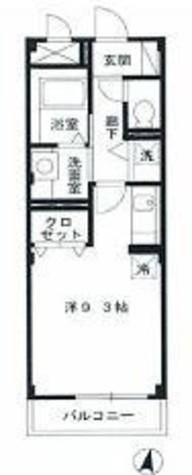 メゾンテラ / 3階 部屋画像1