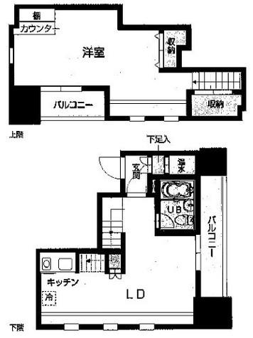 HF八丁堀レジデンスⅢ(旧シングルレジデンス八丁堀Ⅲ) / 14階 部屋画像1