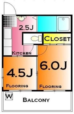 小俣マンション / 5A 部屋画像1