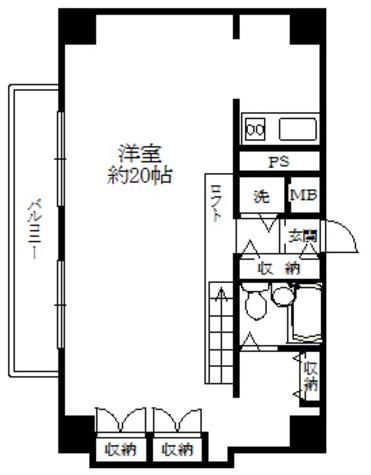 AD・HOMES / 8階 部屋画像1