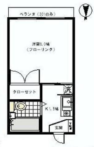 シティコート幡ヶ谷 / 101 部屋画像1