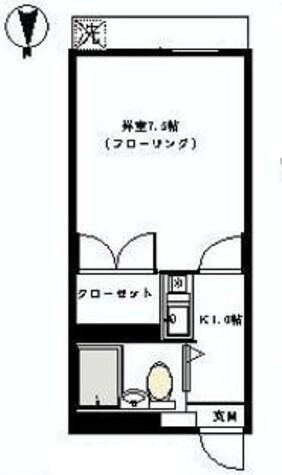 シティコート幡ヶ谷 / 3階 部屋画像1