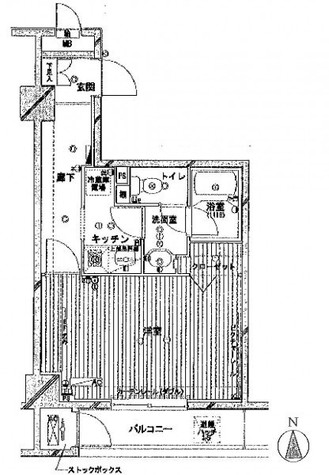 メゾン・ド・ヴィレ神田神保町 / 6階 部屋画像1