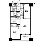 コンフィール日本橋アクアシティ / 402 部屋画像1