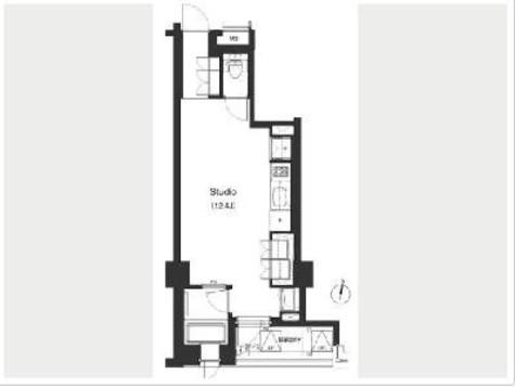 プライムアーバン笹塚(旧アパートメンツ笹塚) / 2階 部屋画像1