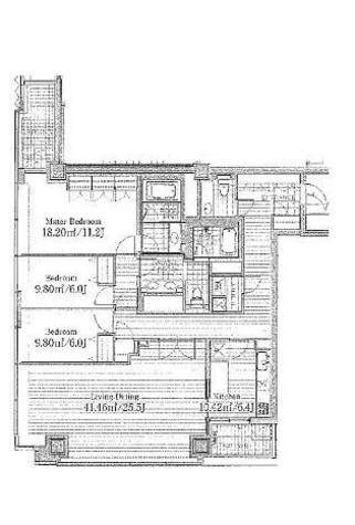 紀尾井町ガーデンタワー / 24階 部屋画像1