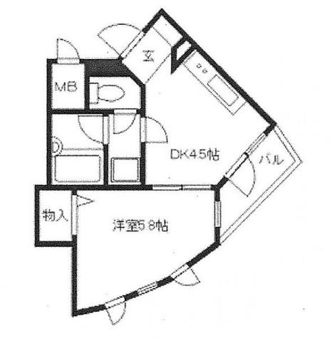 ガウディ動坂 / 2階 部屋画像1