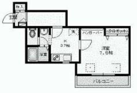 ヴァンテアン代々木 / 205 部屋画像1