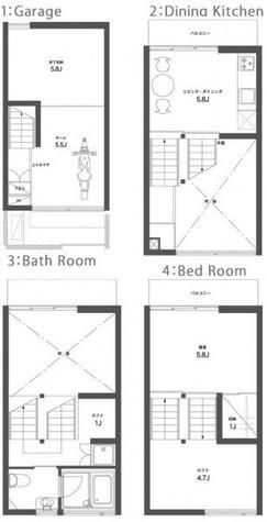 SEPTET セプテット / D 部屋画像1