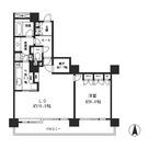 リバーポイントタワー / 1606 部屋画像1