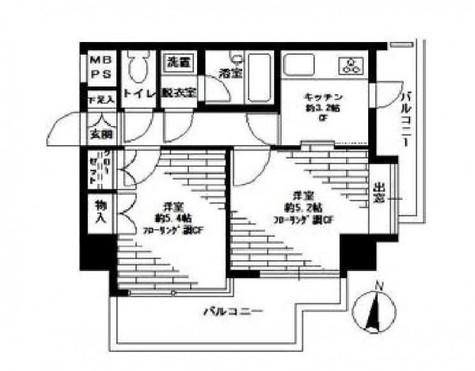 プライムアーバン三軒茶屋Ⅲ / 4階 部屋画像1