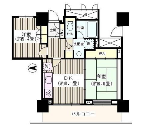 ウエルタワー深川 / 7階 部屋画像1