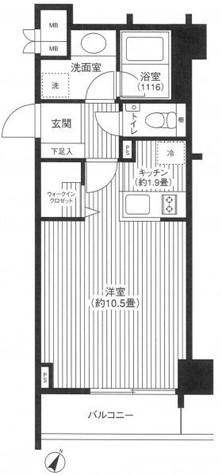 グランハイツ代々木 / 207 部屋画像1