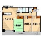 ネオマイム鶴見デュークレア壱番館 / 1006 部屋画像1