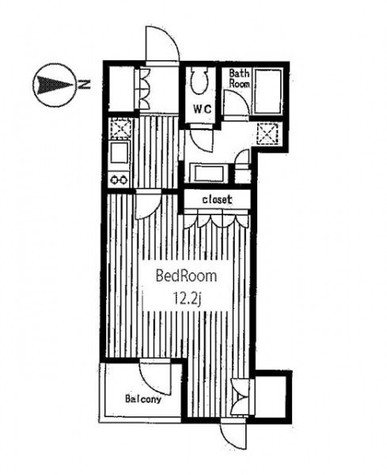 KWレジデンス麹町 / 4階 部屋画像1