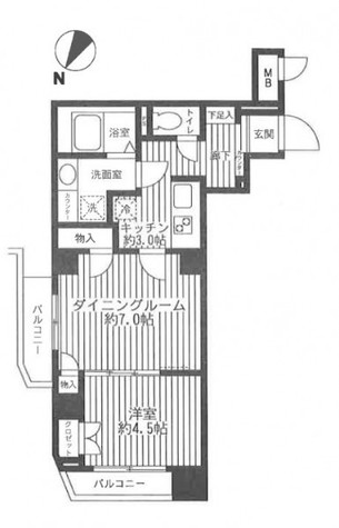 カスタリア初台 / 2階 部屋画像1