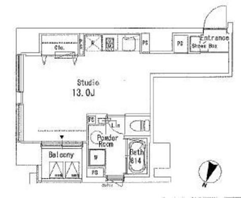 アーバンキューブ九段南 / 7階 部屋画像1