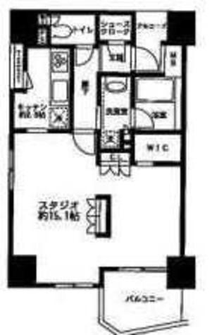 グレンパークG-WEST / 1401 部屋画像1
