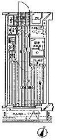 プレール・ドゥーク文京本駒込 / 10階 部屋画像1