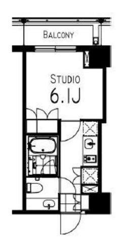 コンフォリア日本橋人形町イースト / 1005 部屋画像1
