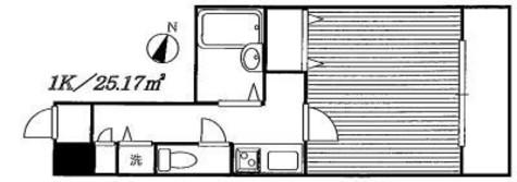 メゾン・ド・ヴィレ本駒込 / 3階 部屋画像1