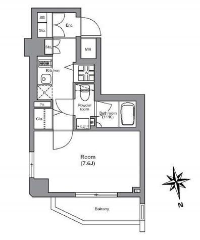 ラグジュアリーアパートメント白金 / 702 部屋画像1