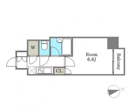 パレステュディオ浜松町 / 5階 部屋画像1