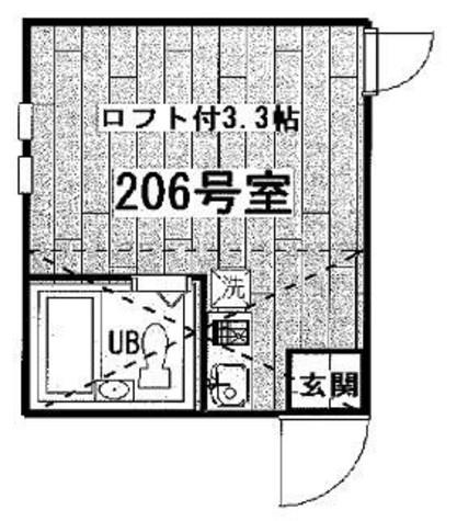 アーバンプレイス渋谷本町 / 206 部屋画像1