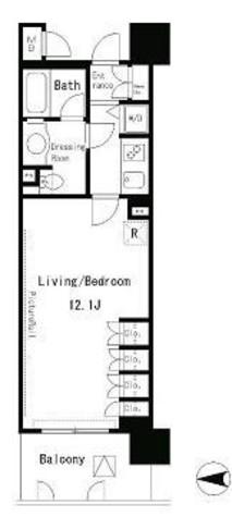 パークアクシス四谷ステージ / 6階 部屋画像1