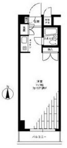 ロイヤルパレス原宿 / 606 部屋画像1