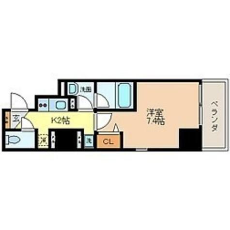蔵前 3分マンション / 303 部屋画像1