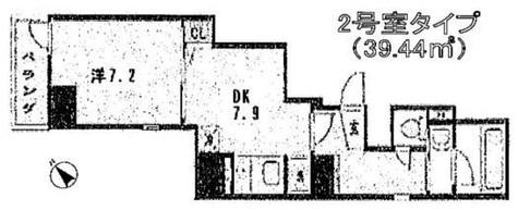 蔵前 3分マンション / 702 部屋画像1