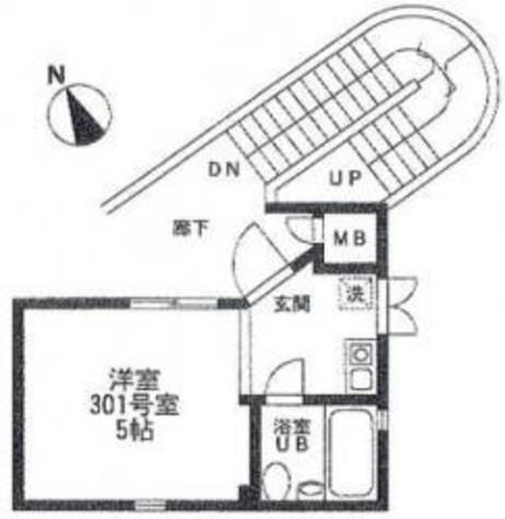 エスパスM2 / 301 部屋画像1