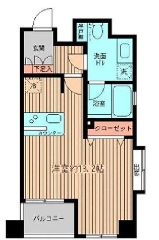 プラティノ代々木 / 2階 部屋画像1