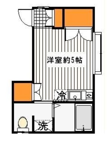 グリーンハイツ / 2階 部屋画像1