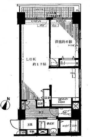 アパルトマンイトウ / 7階 部屋画像1