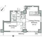 レジディア月島Ⅲ / 1204 部屋画像1