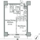 レジディア月島Ⅲ / 3階 部屋画像1