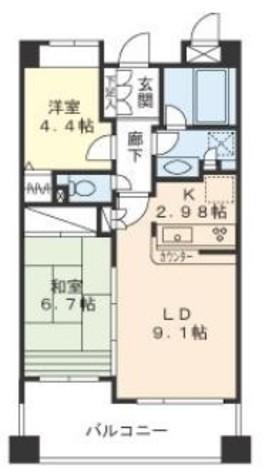 ヒルクレスト妙蓮寺 / 4階 部屋画像1