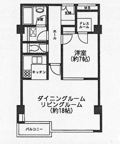 神宮前井門 / 202 部屋画像1