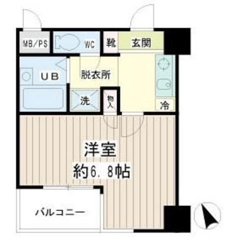 クレール本町 / 6階 部屋画像1
