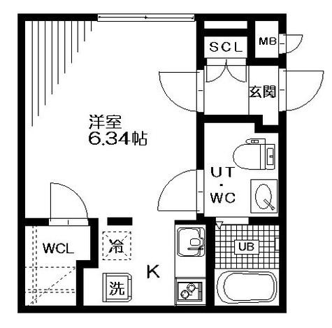 ブランシェ荏原中延 / 1階 部屋画像1